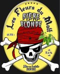 Bière blonde au rock'n'roll rafraîchissant